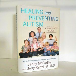 HEALING AND PREVENTING AUTISM: AUTOGRAPHED HARDBAC